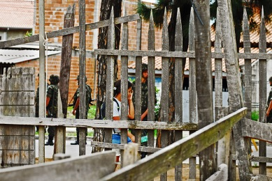 Extinta comunidade do Pinheirinho, São José dos Campos, 2009.