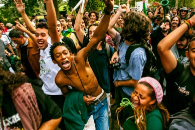 Marcha da Maconha, SP, 2010.