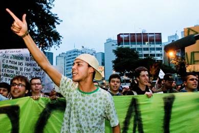 Marcha da Maconha, SP, 2012.