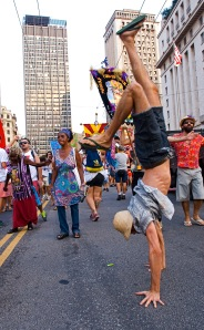 Desfile dos blocos de carnaval pela democracia, 2016.