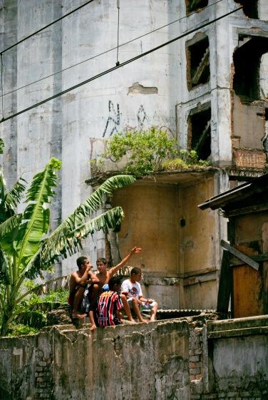 Incêndio na favela do Moinho, SP, 2011.